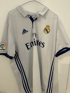Authentic Adidas Real MadridHome Jerse , Size XL.