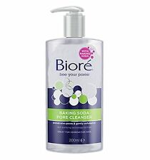 =>BIORE BAKING SODA PORE CLEANSER 200ml