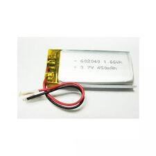 3.7v 450mah 602040 Lith Polymer Li-po Battery