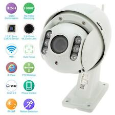 KKMOON H.264 HD 1080P Auto-focus PTZ Wireless WiFi IP Camera CCTV Camera US Y0F2