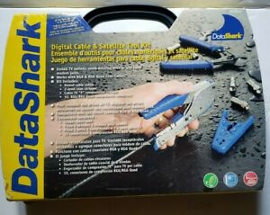 DataShark Digital Cable and Satellite Tool Kit  PA70019 With Case new open box