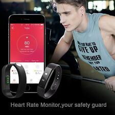 Luxury Smart Watch Sport Fitness Tracker Heart Rate Sleep Monitor GPS Pedometer
