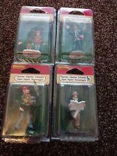 Christmas village figurines