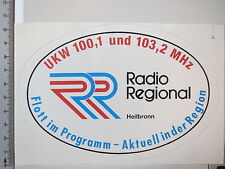 Aufkleber Sticker Radio Regional Heilbronn - Decal (3301)
