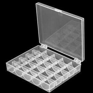 Nähspulenbox für Nähmaschinenspulen Kunststoff Spulenkasten Nähspulen Spulenbox