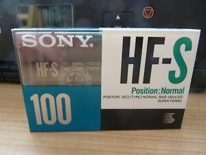 SONY HF-S 100 audiokassette cassette audio tape sealed
