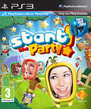 Start the Party ~ PS3 Move Game  (in Great Condition)