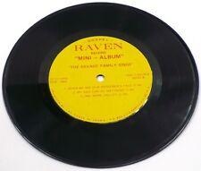"""1970s Danville VIrginia Gospel THE SAVAGE FAMILY SINGS 7"""" EP 33"""