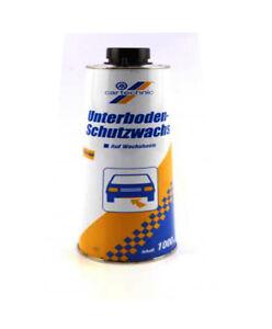 1L Cartechnic UNTERBODENSCHUTZ Bitumen-Basis SCHWARZ STEINSCHLAGSCHUTZ Auto PKW