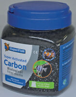 Superfish Super Activated Carbon 1000ml Aquarium Fish Tank Filter Media Bag Incl