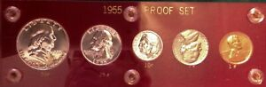 1955 US Silver Proof Set