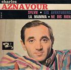 45TRS VINYL 7''/ FRENCH EP BARCLAY / CHARLES AZNAVOUR / LA MAMMA + 3 / LANGUETTE