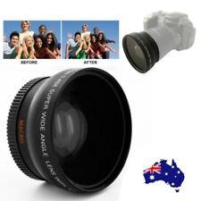 AU 55MM 0.45x Wide Angle Macro Lens for Sony Alpha A77 A280 A290 A380 A390 A580