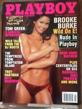 PLAYBOY MAGAZINE MAY 2001 CRISTA NICOLE - BROOKE BURKE NUDE !!!