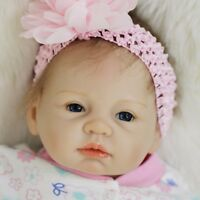 55cm Handmade Girl Realistic Reborn Baby Doll Handmade Newborn Toddler Xmas Gift