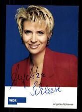 Angelika Schleese Autogrammkarte Original Signiert # BC 80232