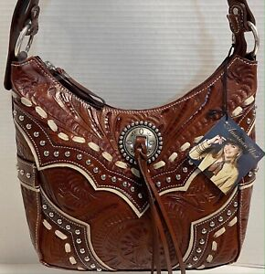 NWT*American West*Leather*Hobo*Shoulder Bag
