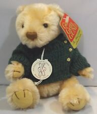 Gund 20cm Jointed Mohair Teddy Bear 'Jeffrey', with Tags (#95111)