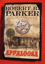 "Robert B. Parker SIGNED book ""Appaloosa"" 1st Ed HC/DJ New COA"
