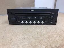 Peugeot Citroen Continental Rd4 N1m03 Car Radio Stereo Cd Mp3 player Decoded
