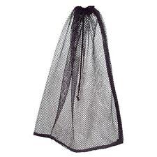 "BLACK Nylon Filter Media ball laundry net mesh carry bag sack 29"" x 37"" 4 cu ft"