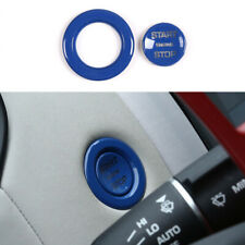 Fit For Jaguar E-PACE 2018-2020 Blue Start Button Ignition Switch Cover Trim 2pc