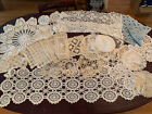 Lot+of+24+Doilies+Vintage+Linens+Crocheted+Handmade.+Large+And+Small