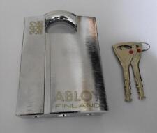 ABLOY PL362 PROTEC HIGH SECURITY PICKPROOF LOCK SHROUDED HARDENED STEEL PADLOCK
