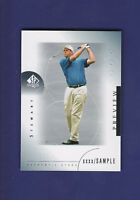 Stewart Cink 2001 Upper Deck Golf SP Authentic Preview (Mint)