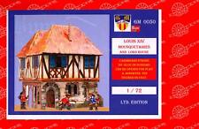 BUM Models 1/72 LOUIS XIV & 3 MUSKETEERS LORD'S HOUSE Figure Set