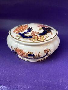 Vintage Mason's Mandalay Lidded Trinket Pot