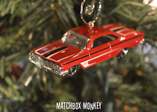 '61 Chevy Impala Classic Custom Christmas Ornament 1/64th Chevrolet Muscle Car
