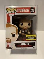 Funko Pop! Movies Shaun of the Dead #240 Shaun Vaulted Vinyl Figure W/Protector