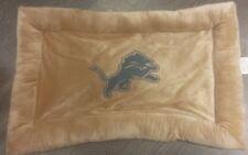 """DETROIT LIONS Pet Dog pillow Dog bed 20x30"""" NEW Detroit Lions"""