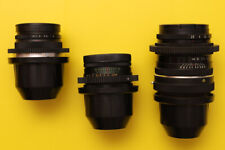 3 Vintage russian lenses set PL mount Arri  Arriflex F5 F55  URSA  C300