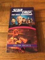Star Trek: Hollow Pursuits VHS