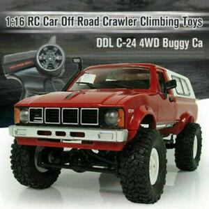 4WD 1:16 4 RC Car Electric Truck 4x4 Remote Control Off Road Crawler Climbing