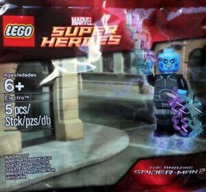 New LEGO ELECTRO Minifigure 5002125 Polybag Promo Spiderman Marvel Super Heroes