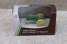 ERTL 1:43 Diecast John Deere 1934 Model A Steel Farm Tractor New In Box