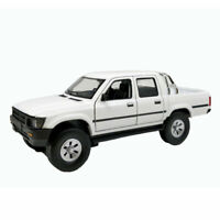 1:32 Toyota Hilux Pick-up Truck Model Car Diecast Gift Toy Vehicle White Kids