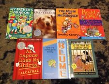 Lot of 7 Children's books Young Adult Newberry Honor Judy Blume Roald Dahl &more