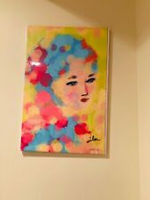 Portrait of A  Pretty Woman , Limited Edition-Original painting signed by artist