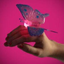 Brillant et clignotant papillon anneau avec en corps 21065