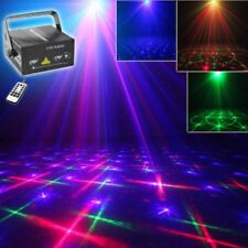 Remote RGB Full Color Patterns Stage Laser Light DJ Home Xmas Party Light Show