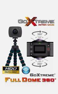 GoXtreme fulldome Double 360 ° Panorama & VR WiFi Action Camera NEU
