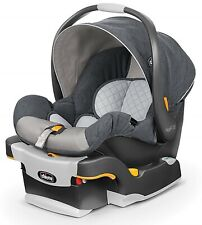 Chicco Keyfit 30 Infant Child Safety Car Seat & Base Nottingham 4 - 30 lbs New