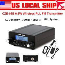 CZE-05B 0.5W Wireless PLL FM Transmitter 76MHz~108MHz Home LCD Stereo Broadcast