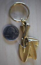 Gardner Garden Shovel Planter Cute Keychain Key Ring #27113