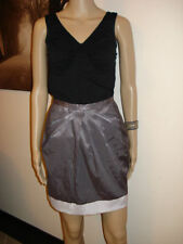 Above Knee A-Line Solid Skirts for Women