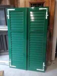 1 Paar Fensterladen - Holz - gebraucht - Höhe 172 cm - Breite 53 cm